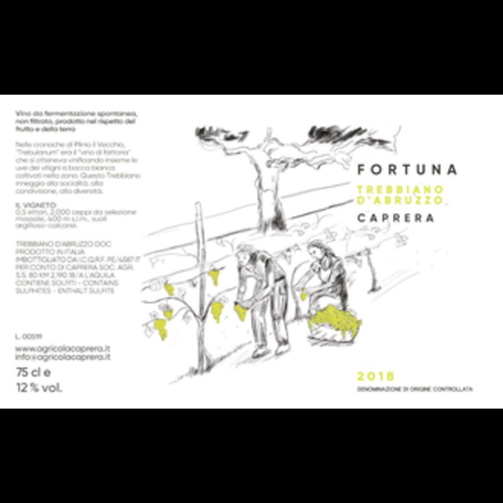 Wine Caprera Trebbiano d'Abruzzo DOC 2018