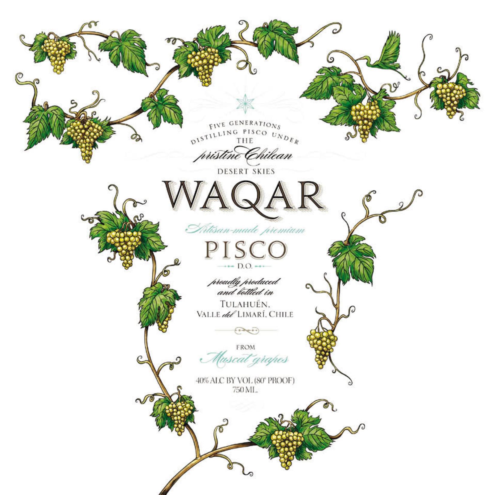 Spirits Waqar Chilean Pisco