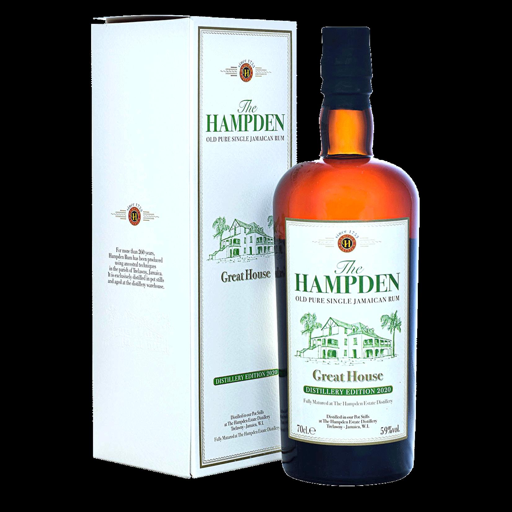 Spirits Hampden Estate Great House Old Pure Single Jamaican Rum Distillery Edition 2020