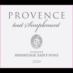 Wine Domaine Hermitage Saint Pons Cotes de Provence Tout Simplement Rose 2020 1.5L