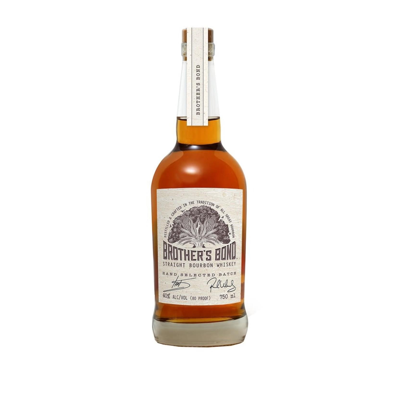 Spirits Brothers Bond Straight Bourbon Whiskey
