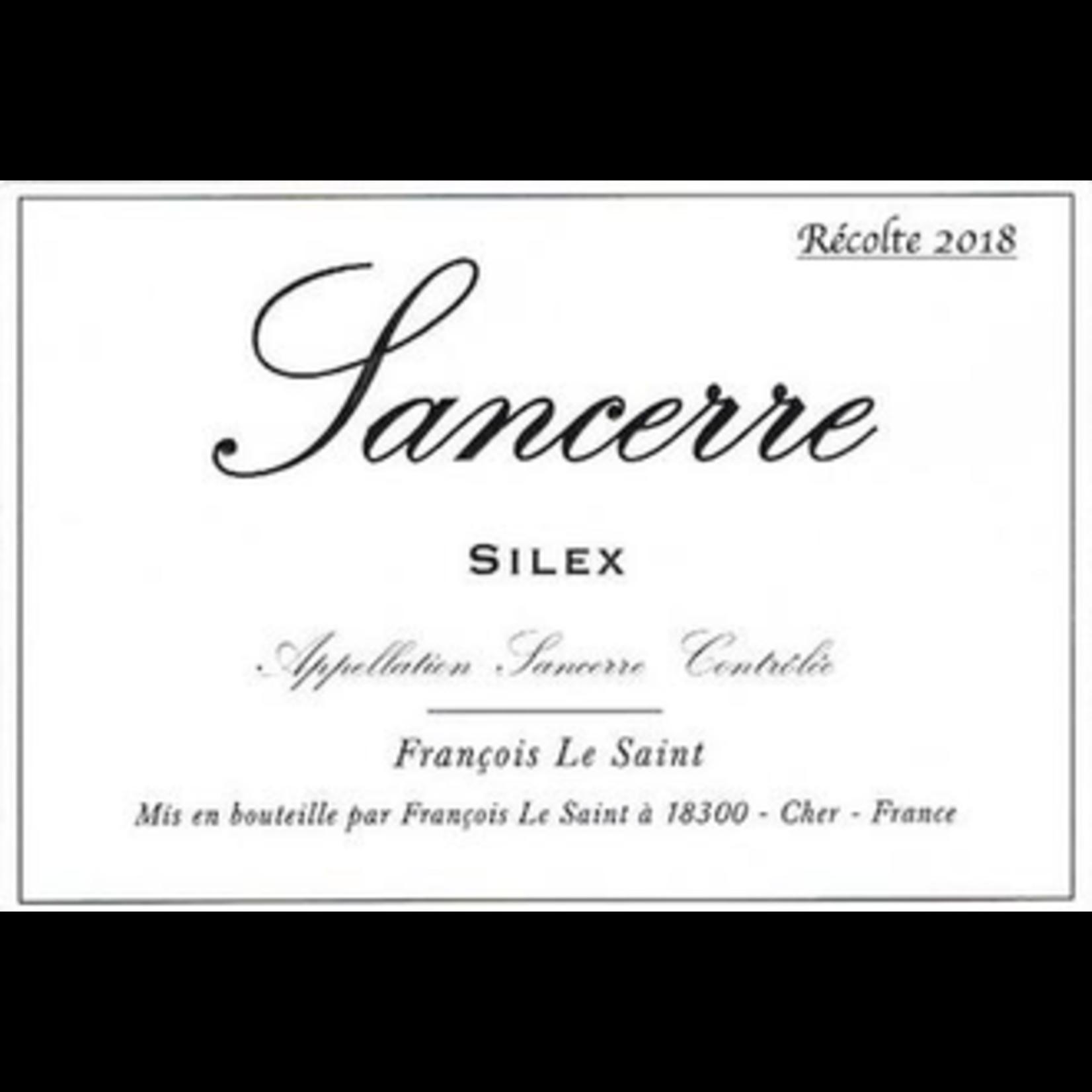 Wine Francois Le Saint Sancerre Silex 2019