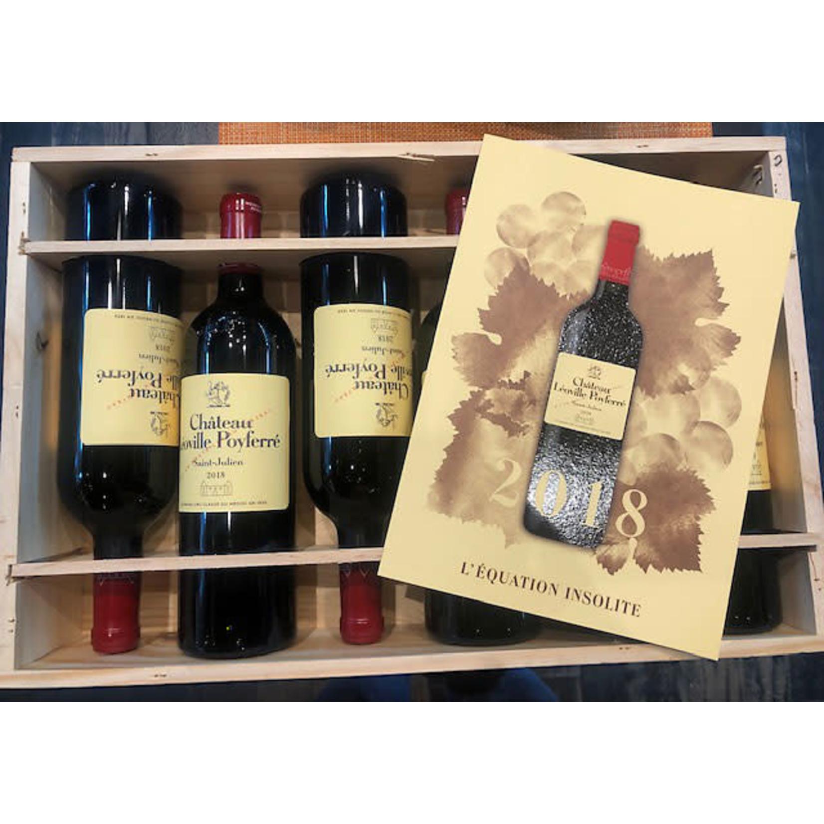 Wine Chateau Leoville Poyferre 2018