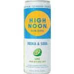 Spirits High Noon Sun Sips Vodka & Soda Lime 355ml Cans