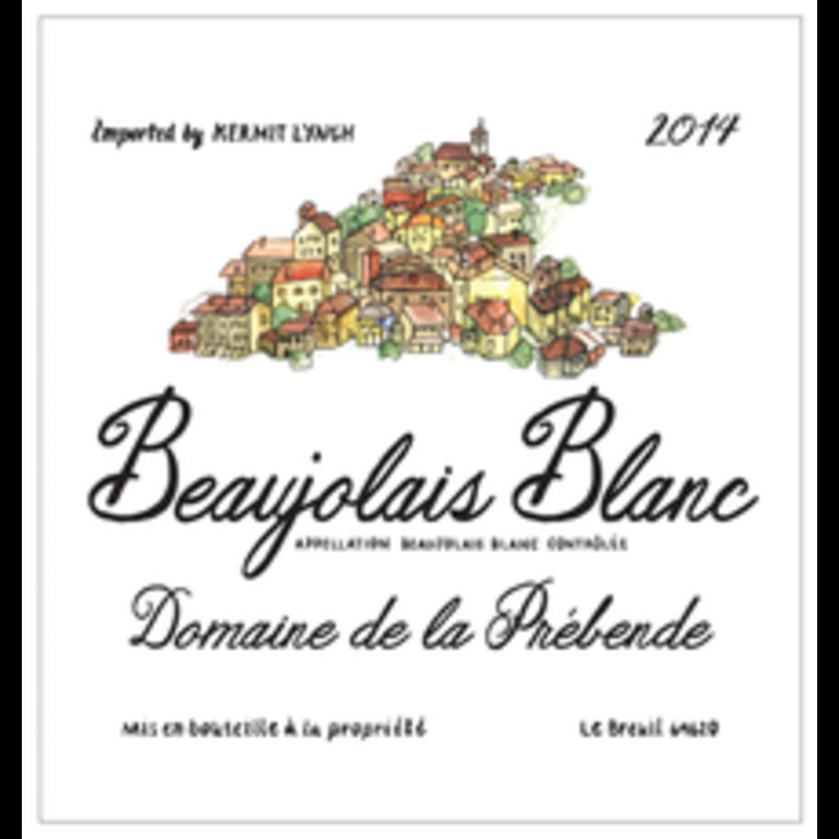 Wine Domaine de la Prebende Beaujolais Blanc Anna Asmaquer 2019