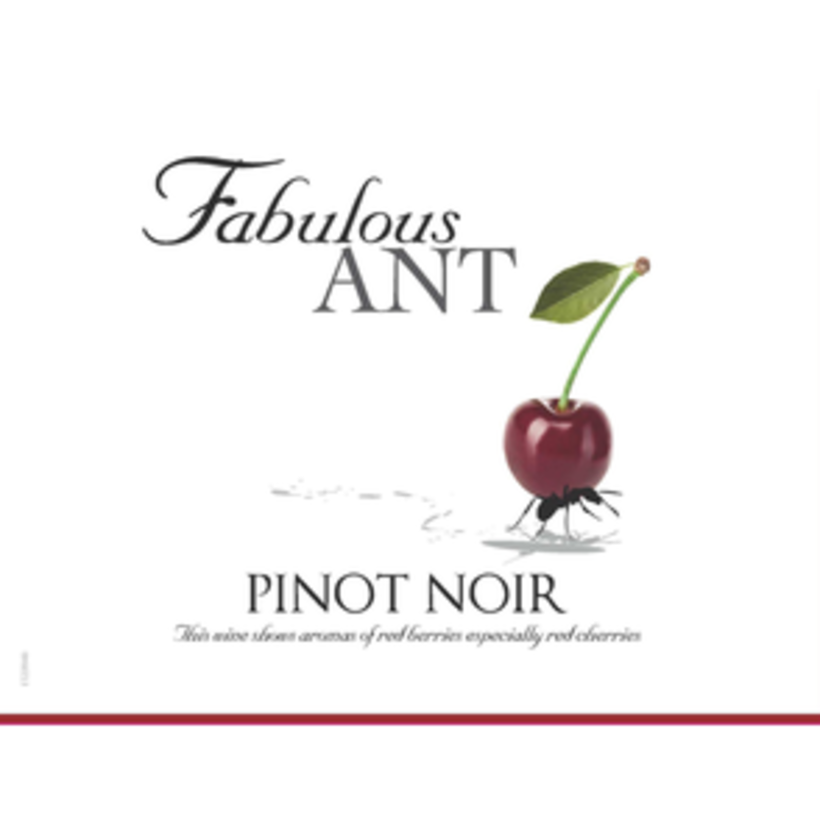 Wine Fabulous Ant Pinot Noir 2019