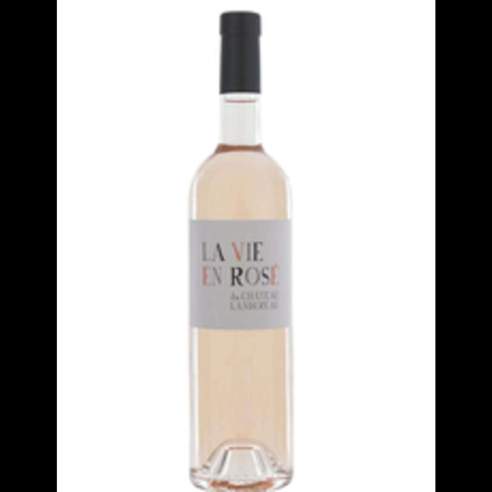 Wine Chateau Landereau Bordeaux La Vie en Rose 2020