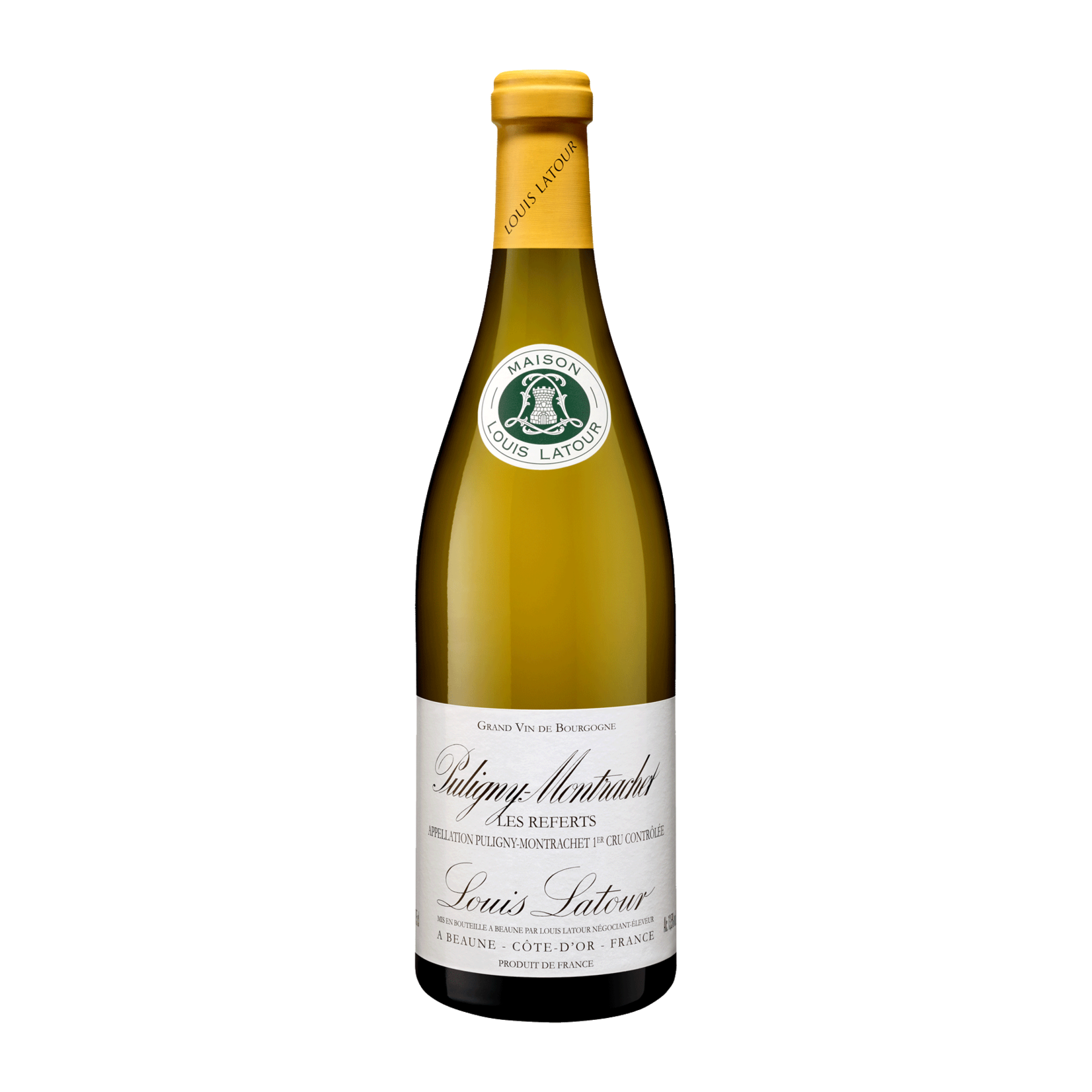 Wine Louis Latour Puligny Montrachet Premier Cru Les Referts 2018