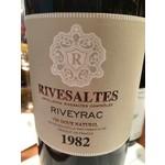 Wine Muse Riveyrac Rivesaltes 1982