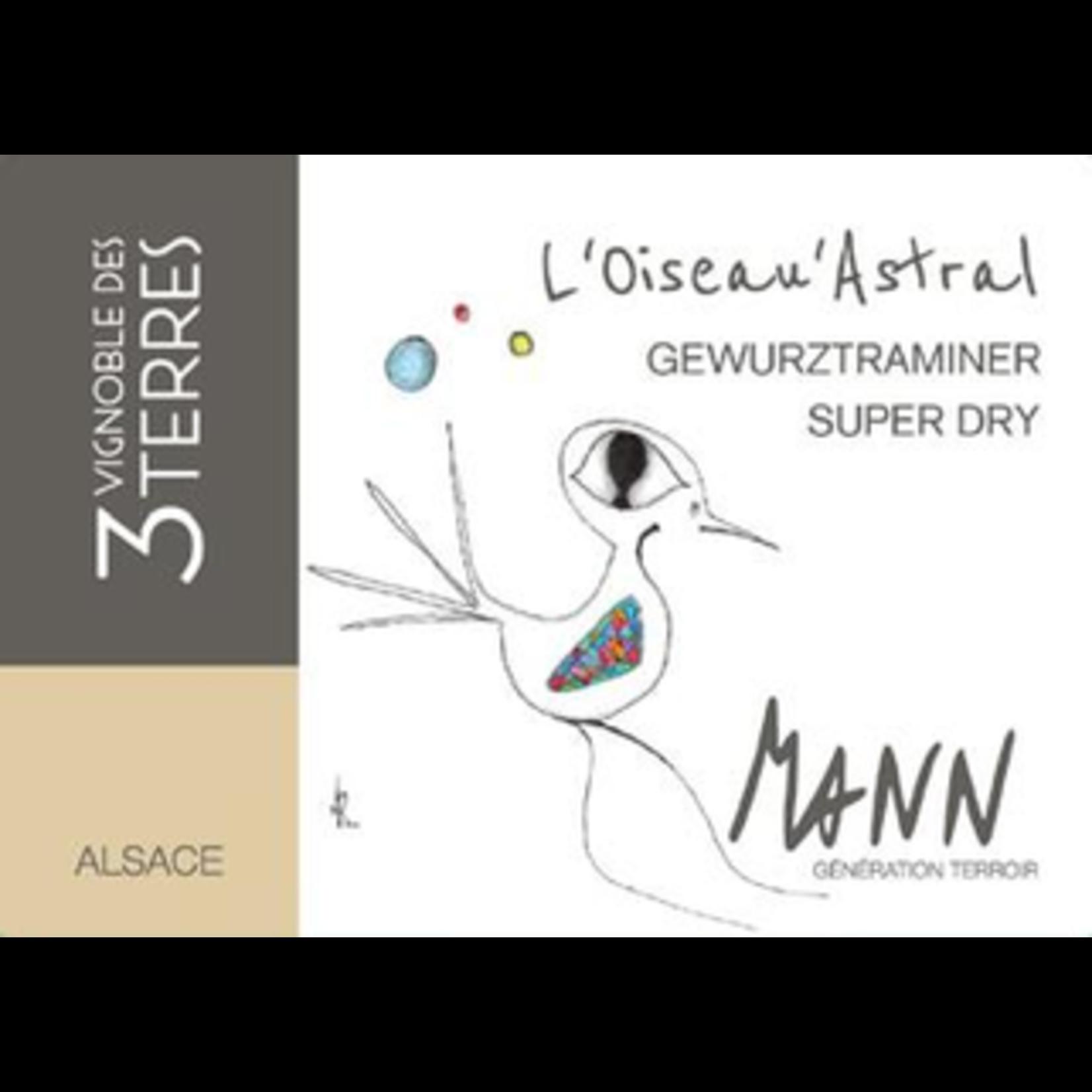 Wine DOmaine Mann Alsace Gewurztraminer L'Oiseau Astral Super Dry 2018