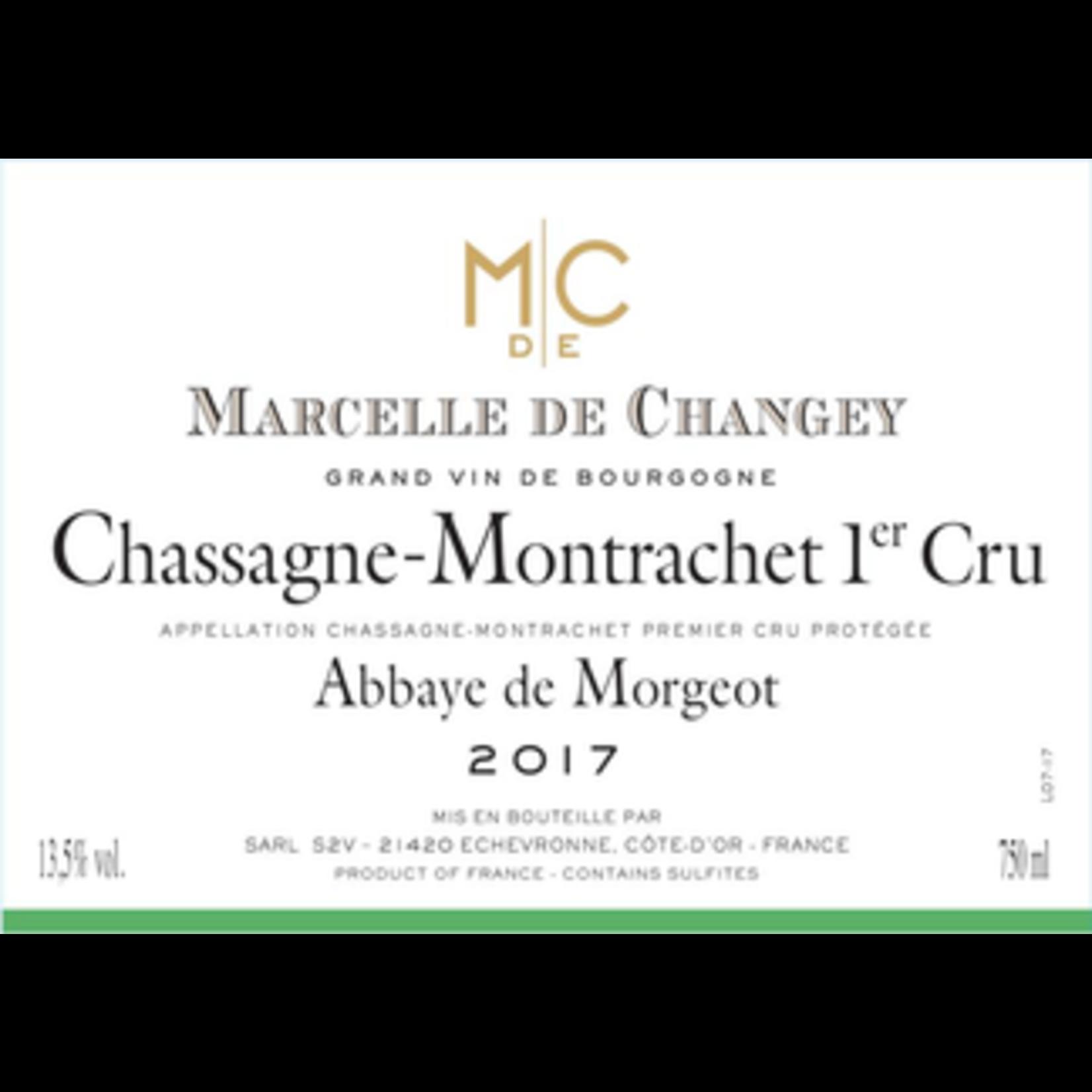Wine Marcelle de Changey Chassagne Montrachet Premier Cru Abbaye de Morgeot 2019