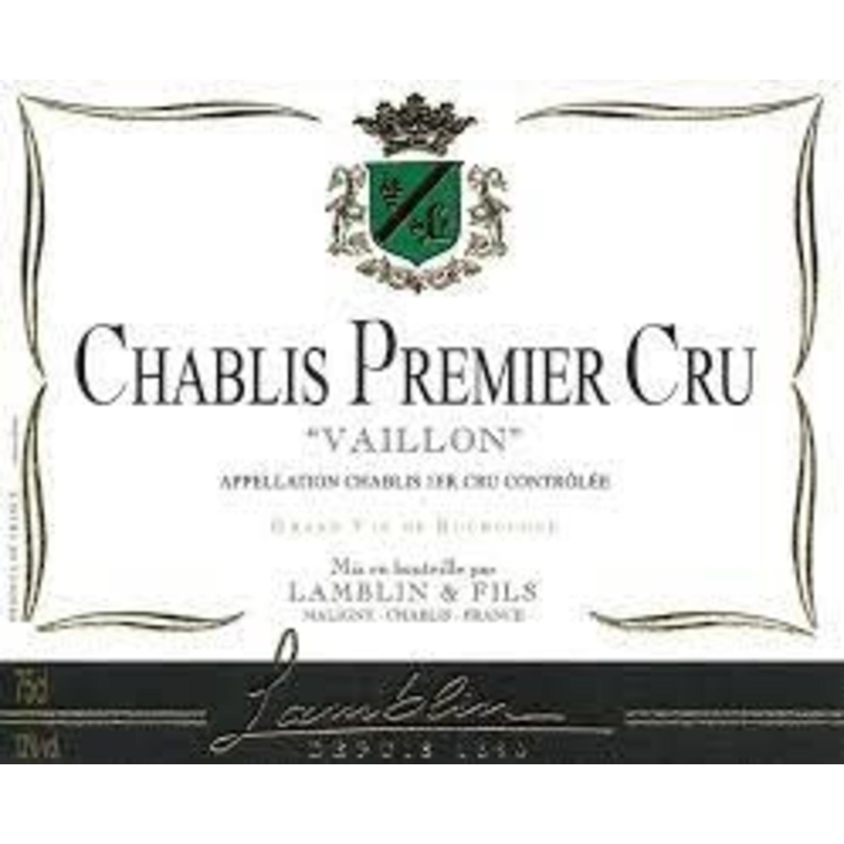 Wine Lamblin & Fils Chablis Premier Cru Vaillons 2018