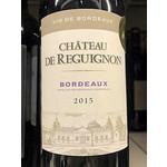 Wine Chateau de Reguignon Bordeaux 2015