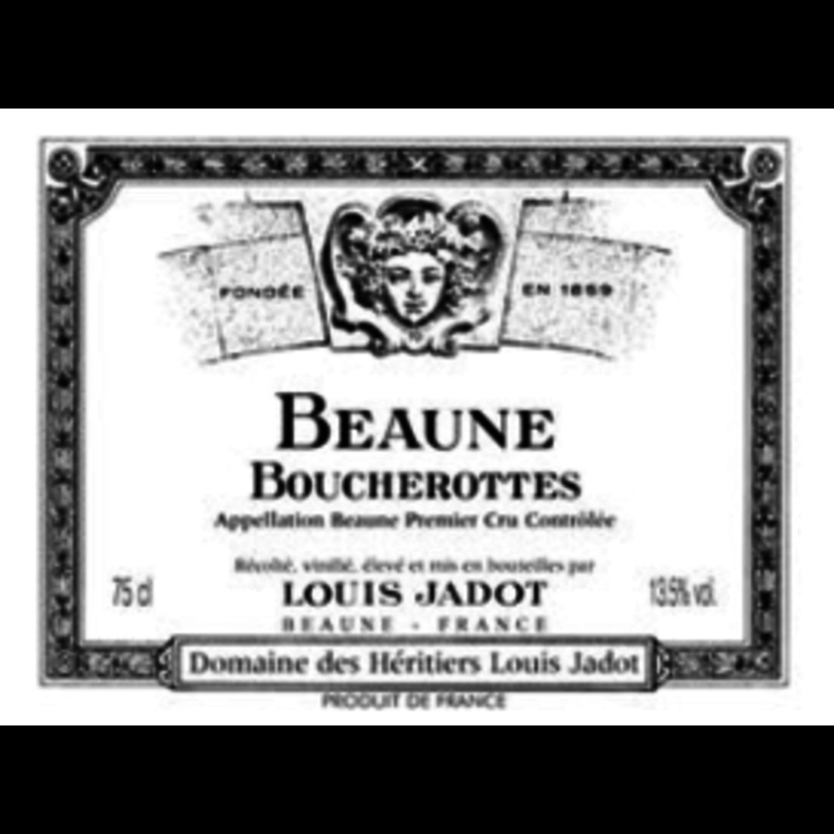 Wine Beaune 1er Cru Boucherottes, Domaine des Héritiers Louis Jadot 2019