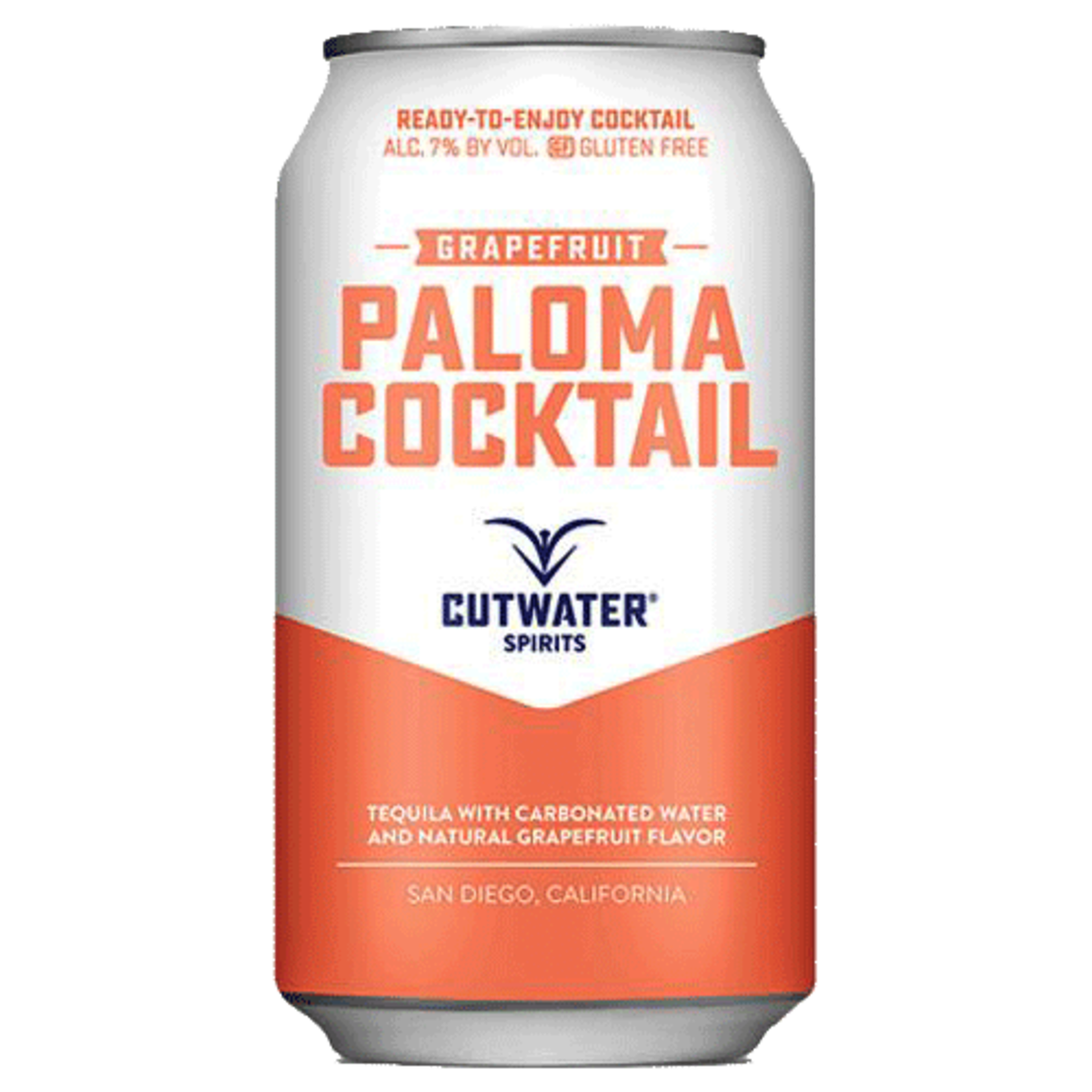 Spirits Cutwater Tequila Grapefruit Paloma Cocktail Can 355ml