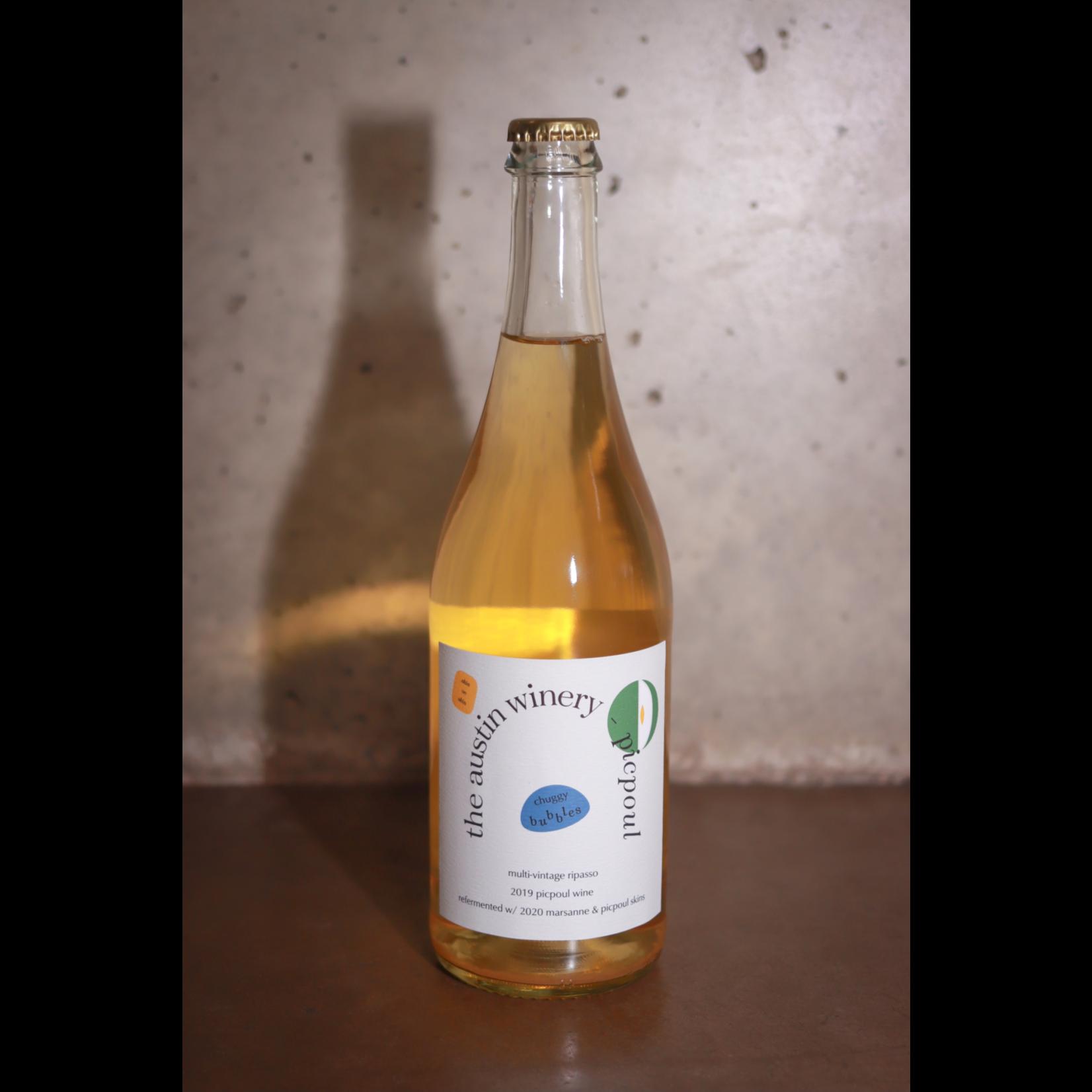 "Sparkling The Austin Winery Picpoul Pet Nat ""Chuggy Bubbles"" 2019"