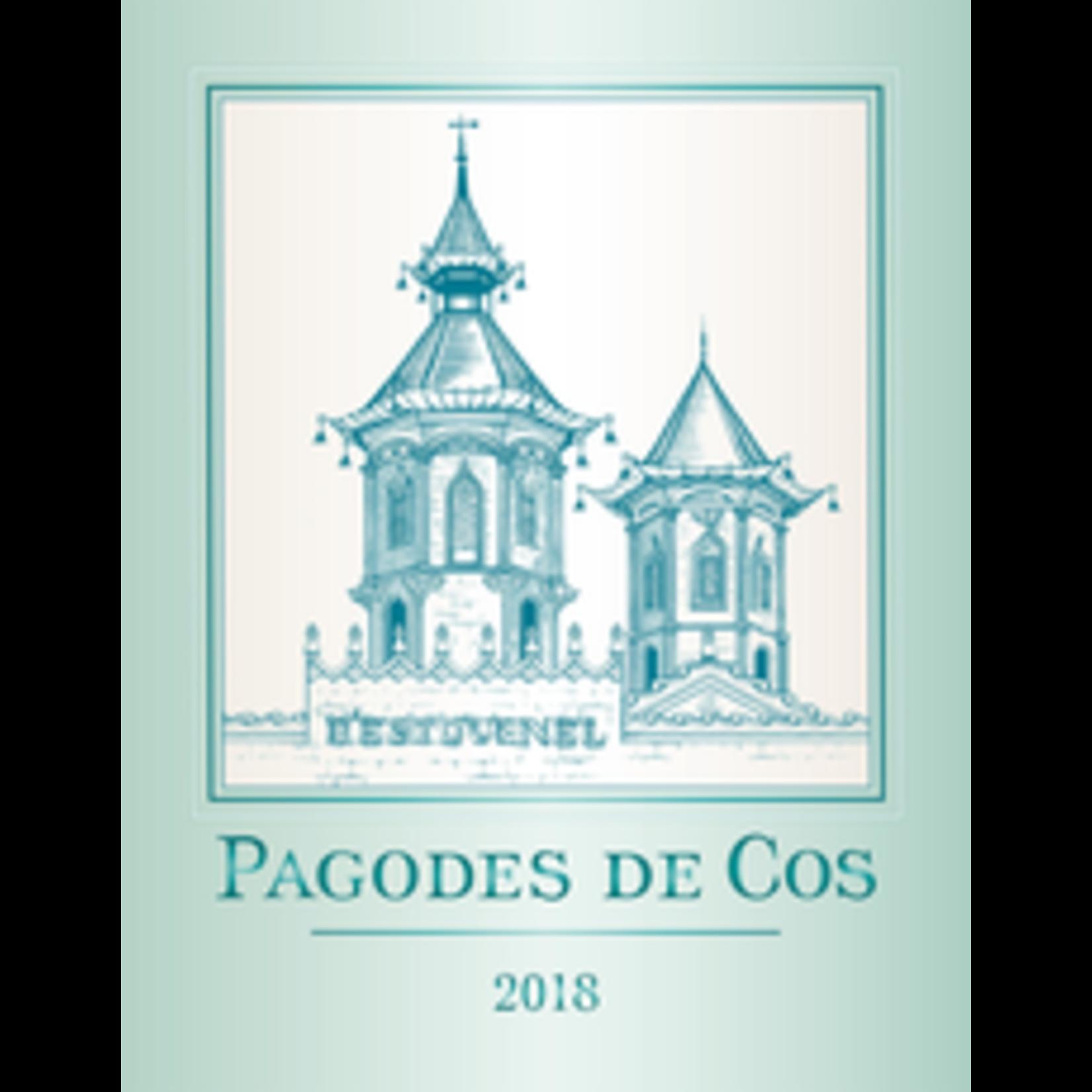 Wine Pagodes de Cos Blanc  2018