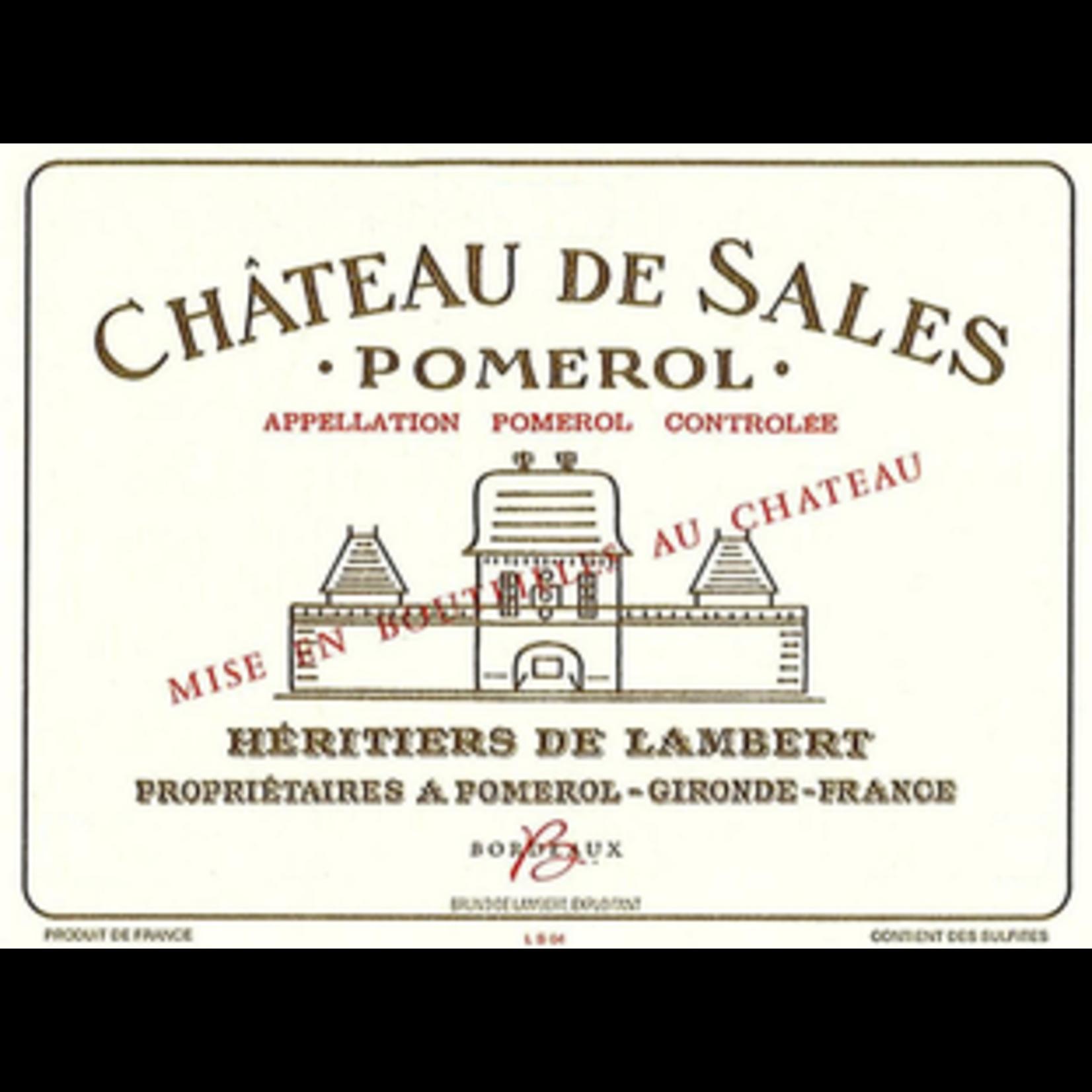 Wine Chateau de Sales 2015 375ml