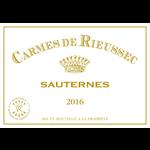 Wine Carmes De Rieussec 2016 375ml