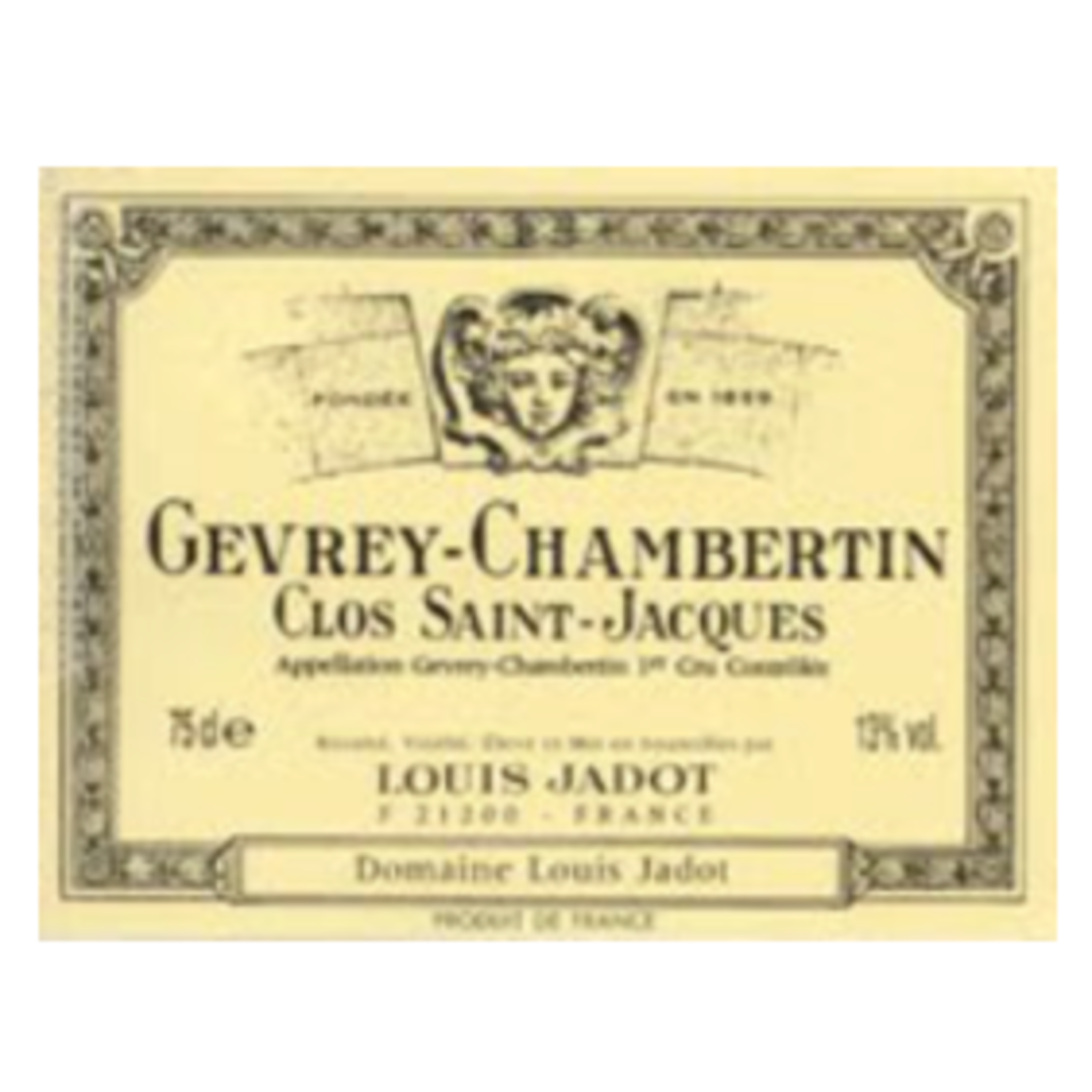 Wine Gevrey-Chambertin 1er Cru Clos Saint-Jacques, Domaine Louis Jadot 2019