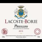 Wine Lacoste Borie 2015