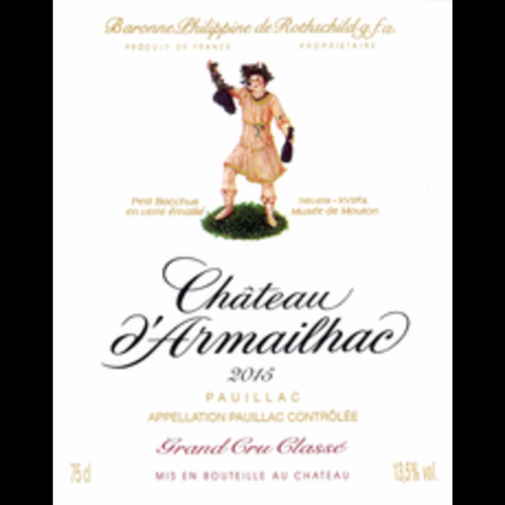 Wine Chateau d'Armailhac  2015
