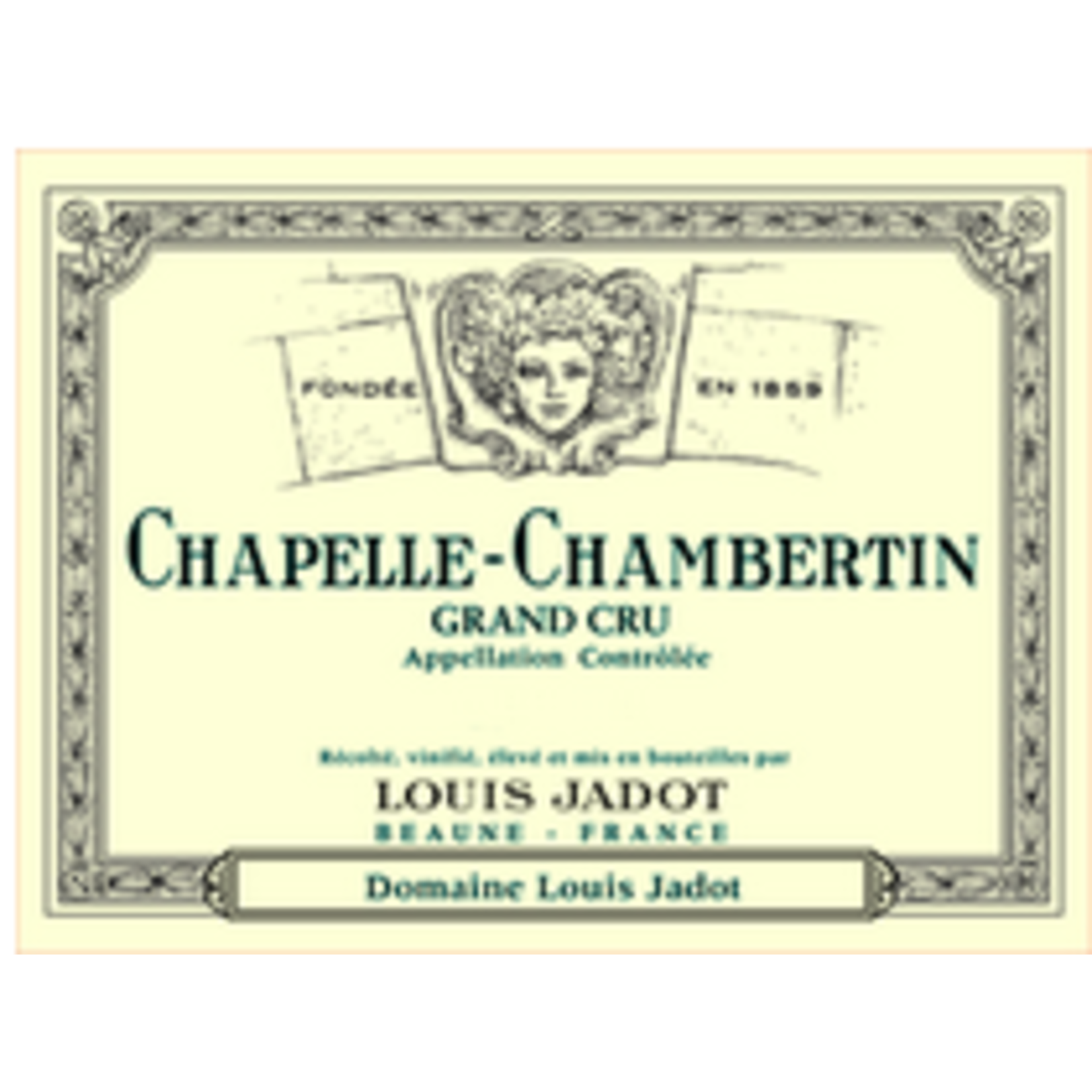 Wine Chapelle-Chambertin Grand Cru, Domaine Louis Jadot 2019