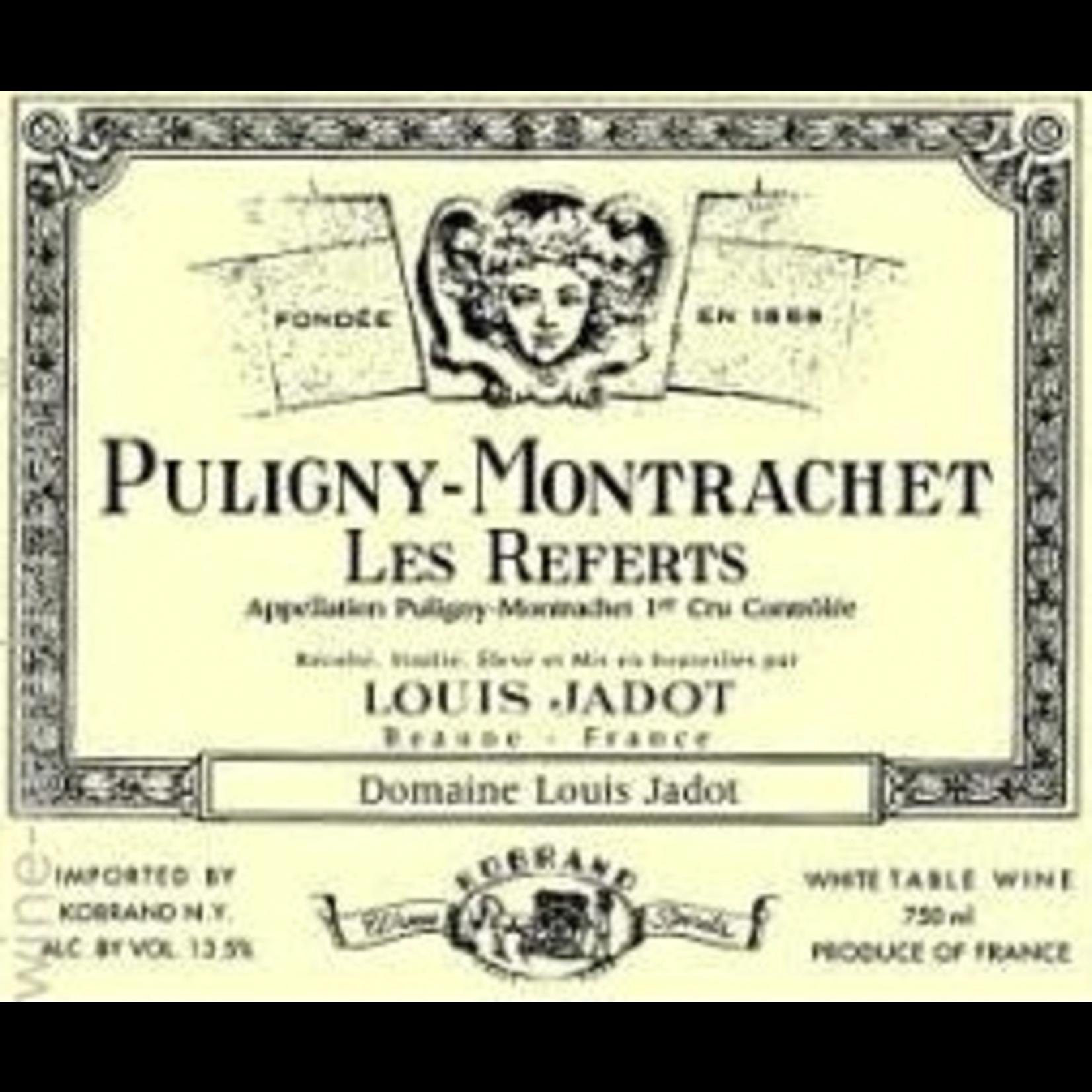 Wine Puligny-Montrachet 1er Cru Les Referts, Domaine Louis Jadot 2019
