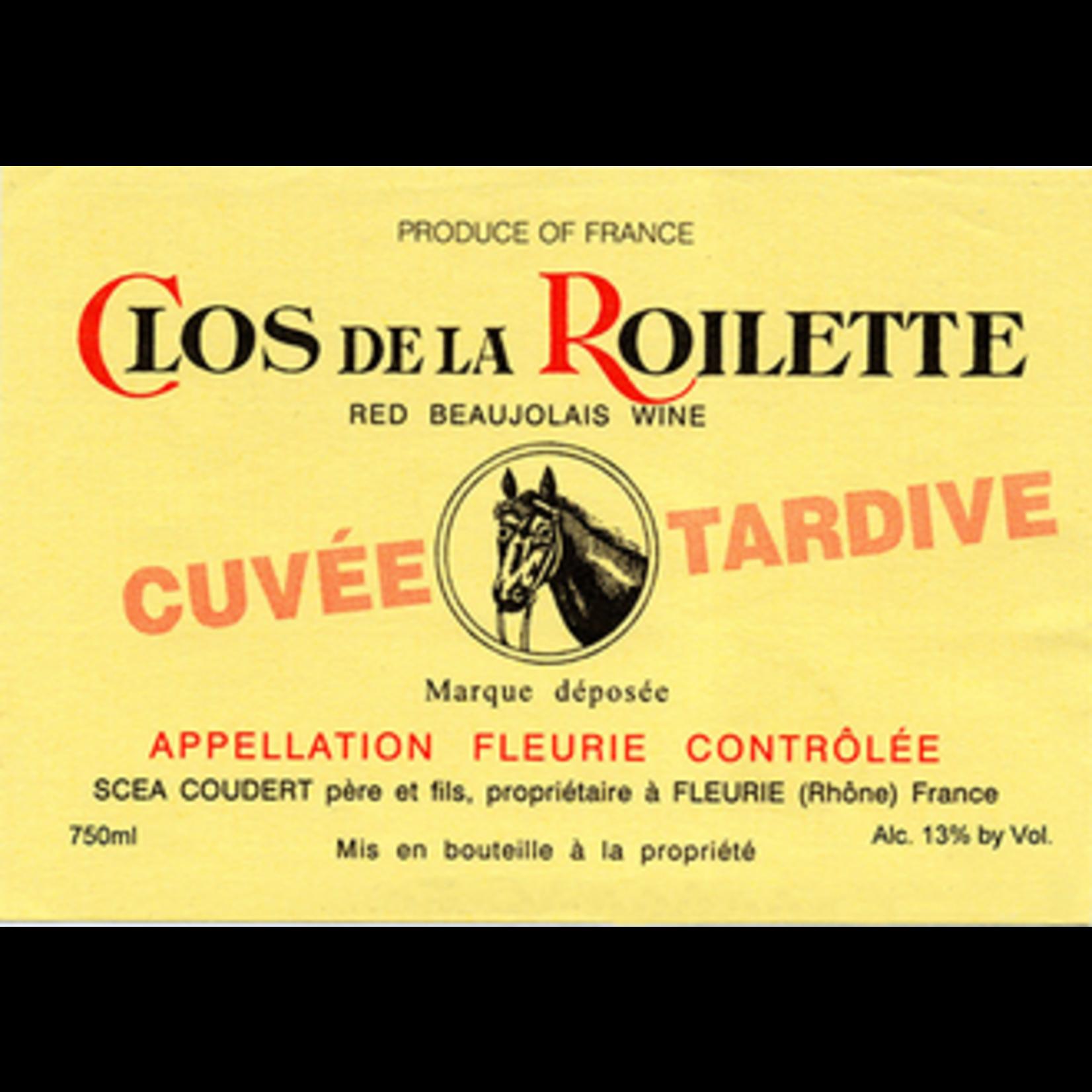 Wine Clos de la Roilette Beaujolais Fleurie Cuvee Tardive 2020 1.5L