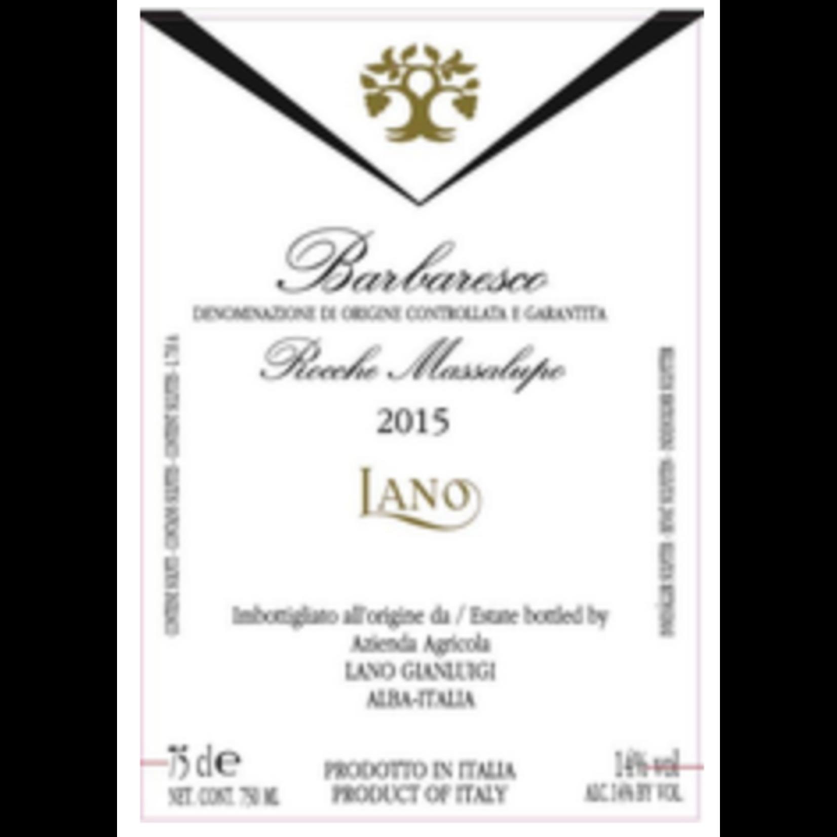 Wine Azienda Agricola Lano Gianluigi Barbaresco 'Rocche Massalupo 2016