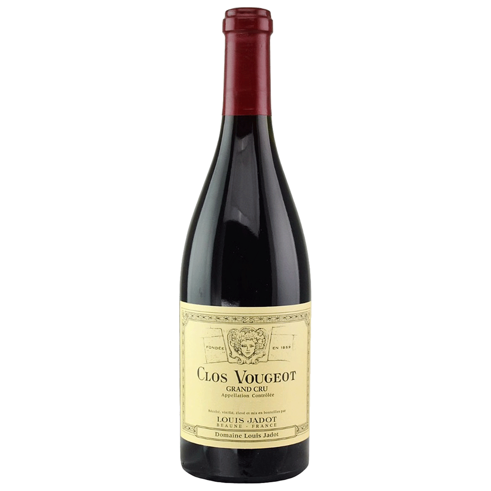 Wine Clos Vougeot Grand Cru, Domaine Louis Jadot 2019