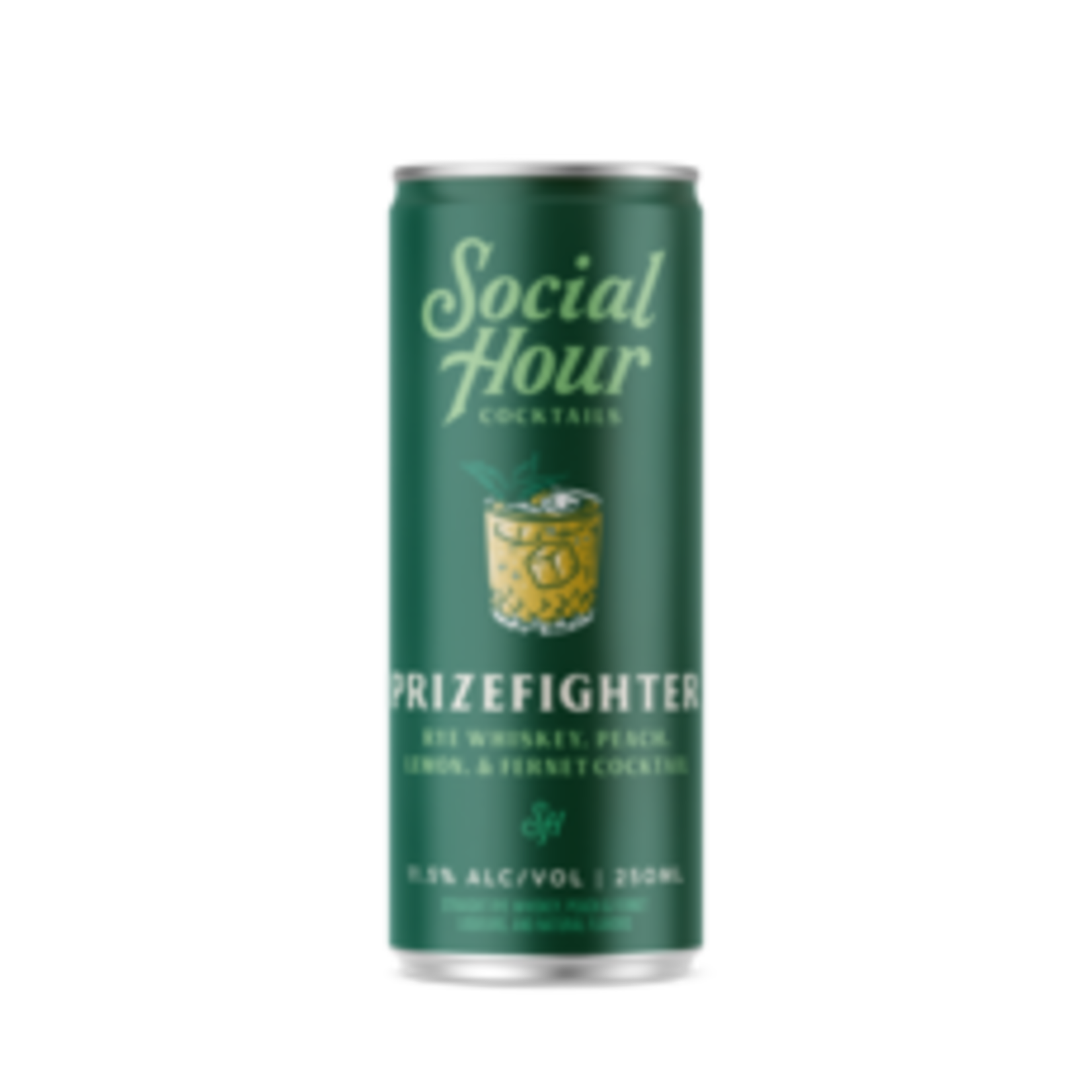 Spirits Social Hour Cocktails Brooklyn Craft Prizefighter Can 250ml