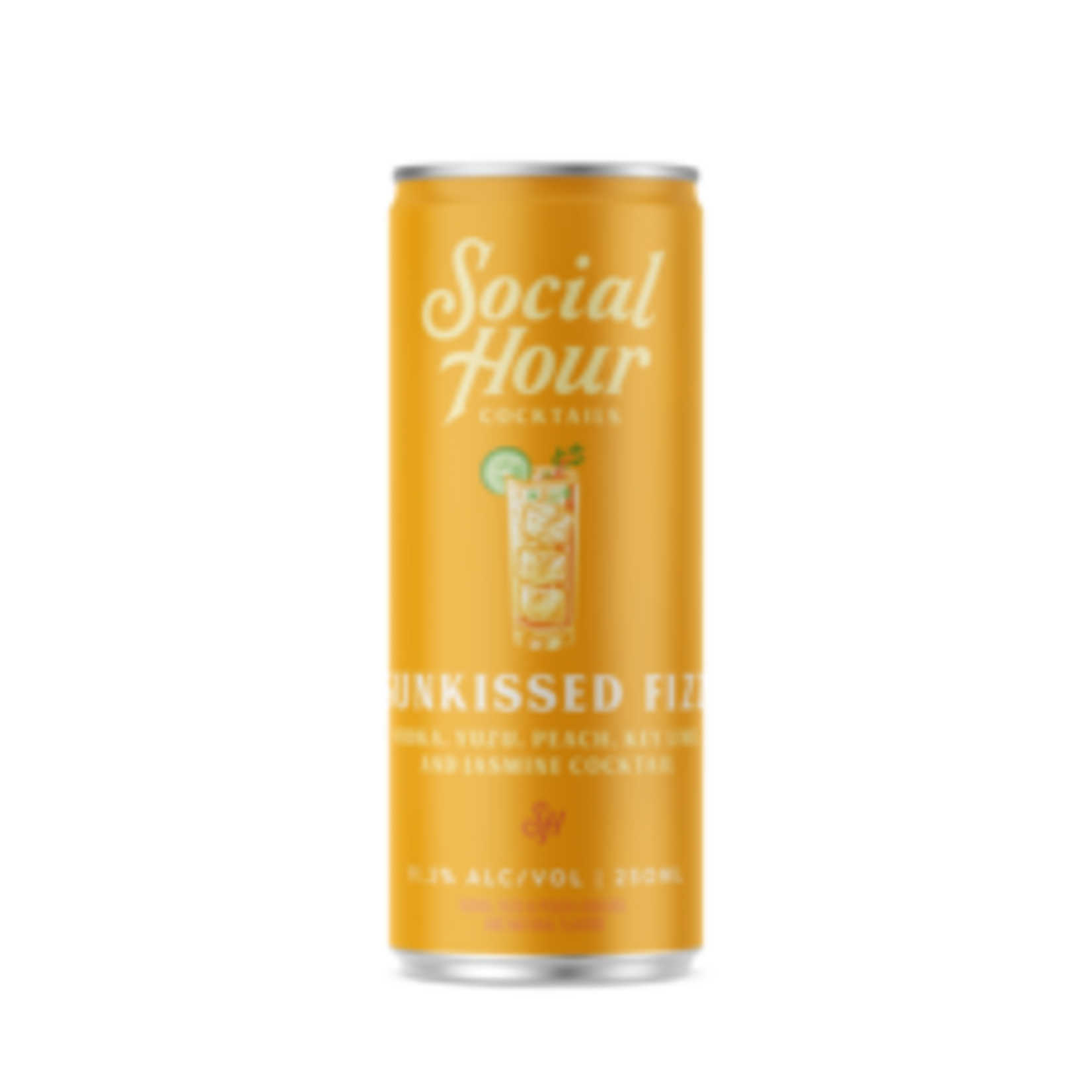 Spirits Social Hour Cocktails Brooklyn Craft Sunkissed Fizz Can 250ml