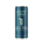 Spirits Social Hour Cocktails Brooklyn Craft Gin & Tonic Can 250ml