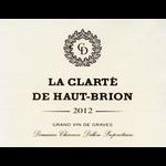 Wine Clarte de Haut Brion Blanc  2012