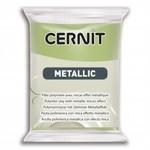 Cernit Cernit Metallic 56g Green Gold