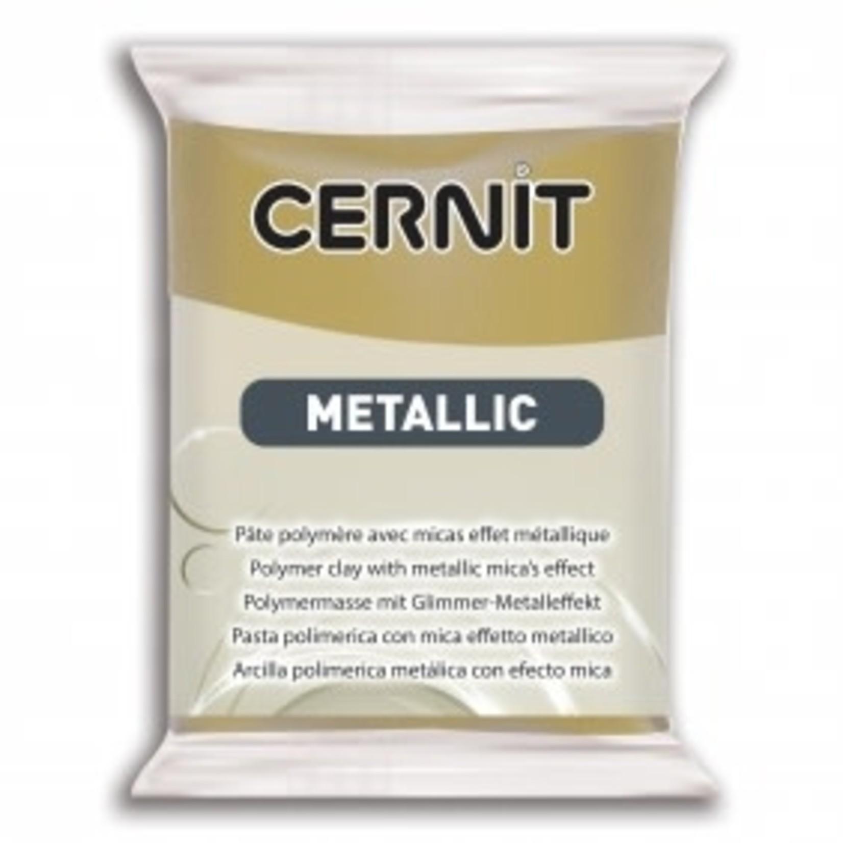 Cernit Cernit Metallic 56g Antique Gold