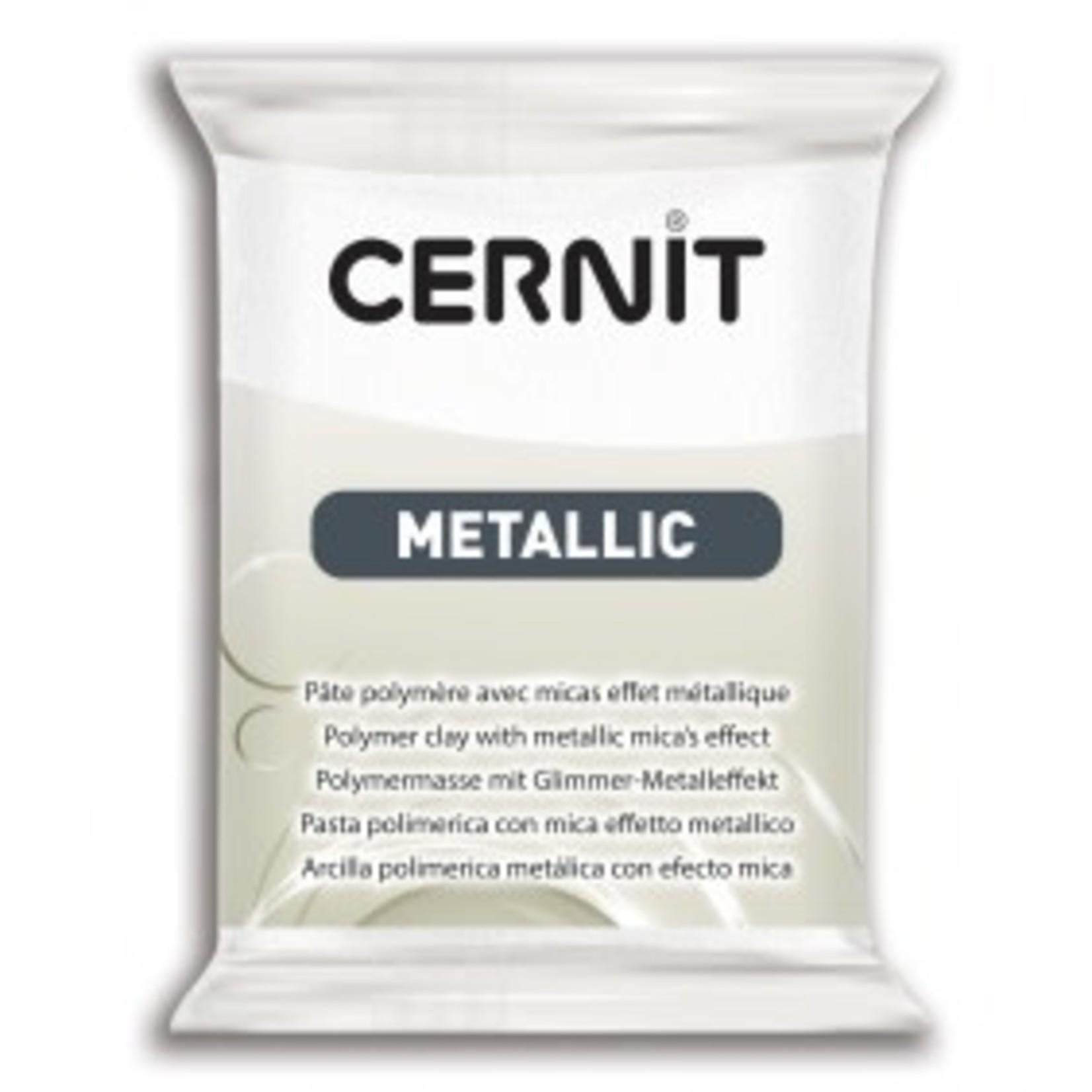 Cernit Cernit Metallic 56g Pearl White