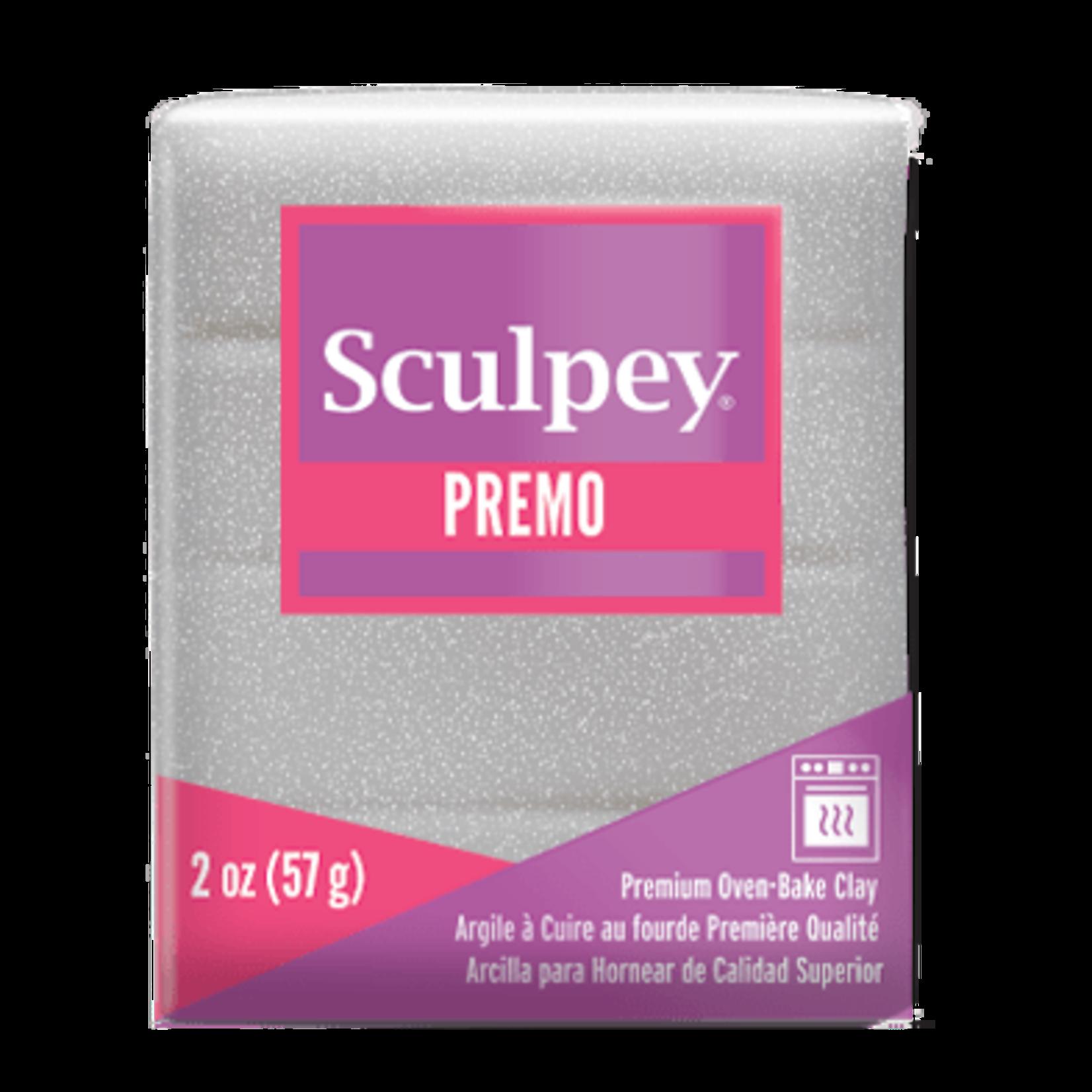 Sculpey Sculpey Premo   -- White Gold Glitter