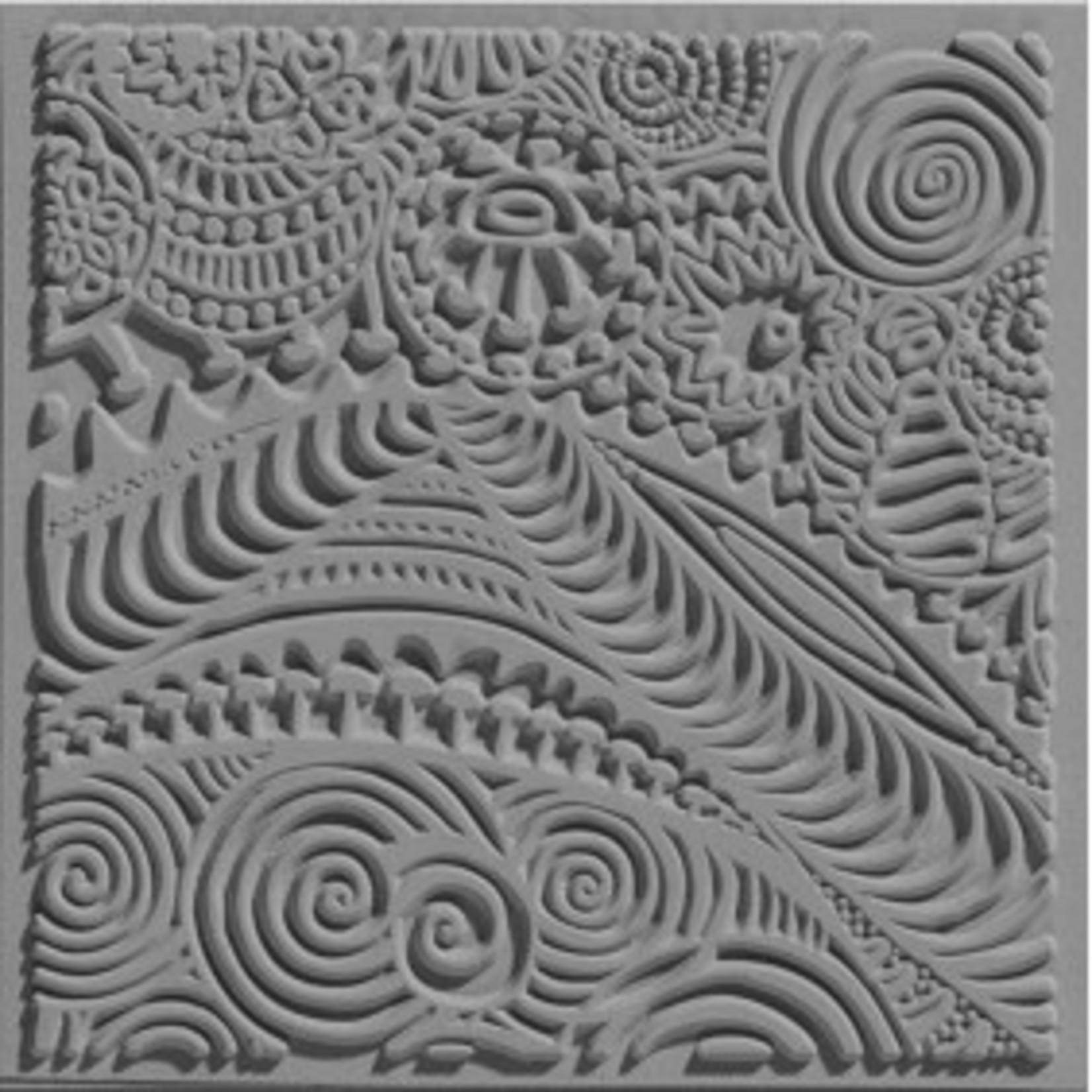 Cernit Cernit Texture Plate 9 X 9 cm - Freestyle
