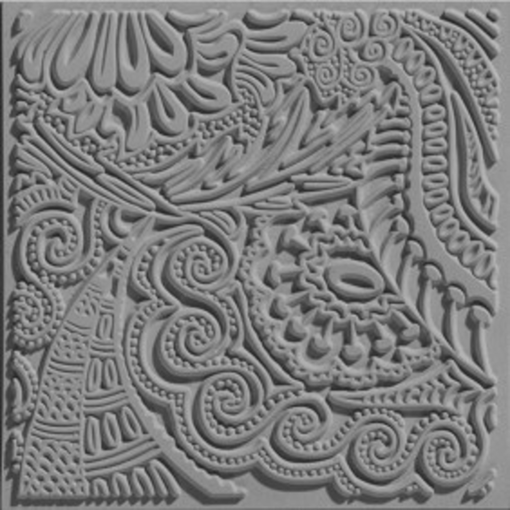 Cernit Cernit Texture Plate 9 X 9 cm - Moments