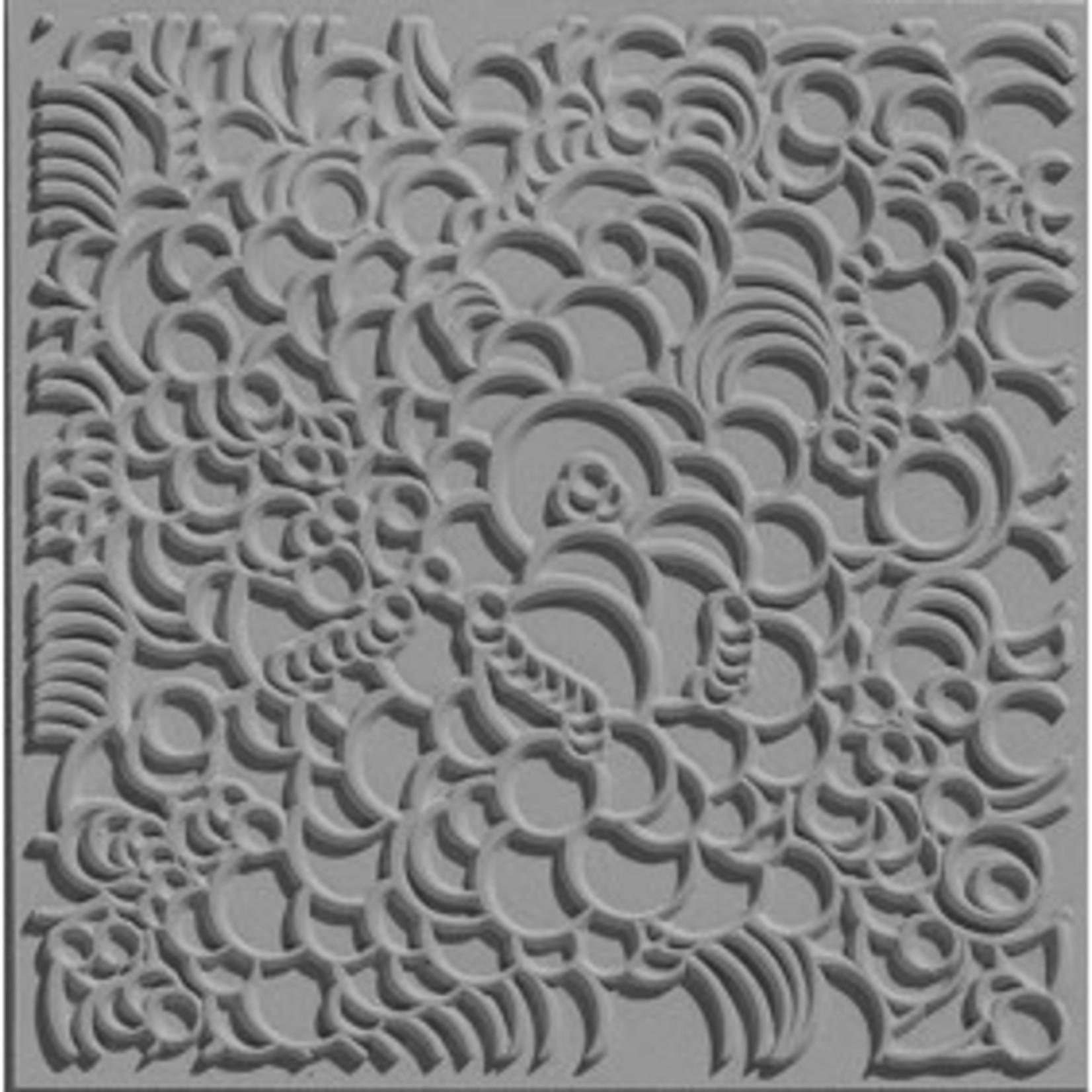 Cernit Cernit Texture Plate 9 X 9 cm - Bubbles