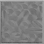 Cernit Cernit Texture Plate 9 X 9 cm - Spirals