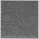 Cernit Cernit Texture Plate 9 X 9 cm - Blossoms
