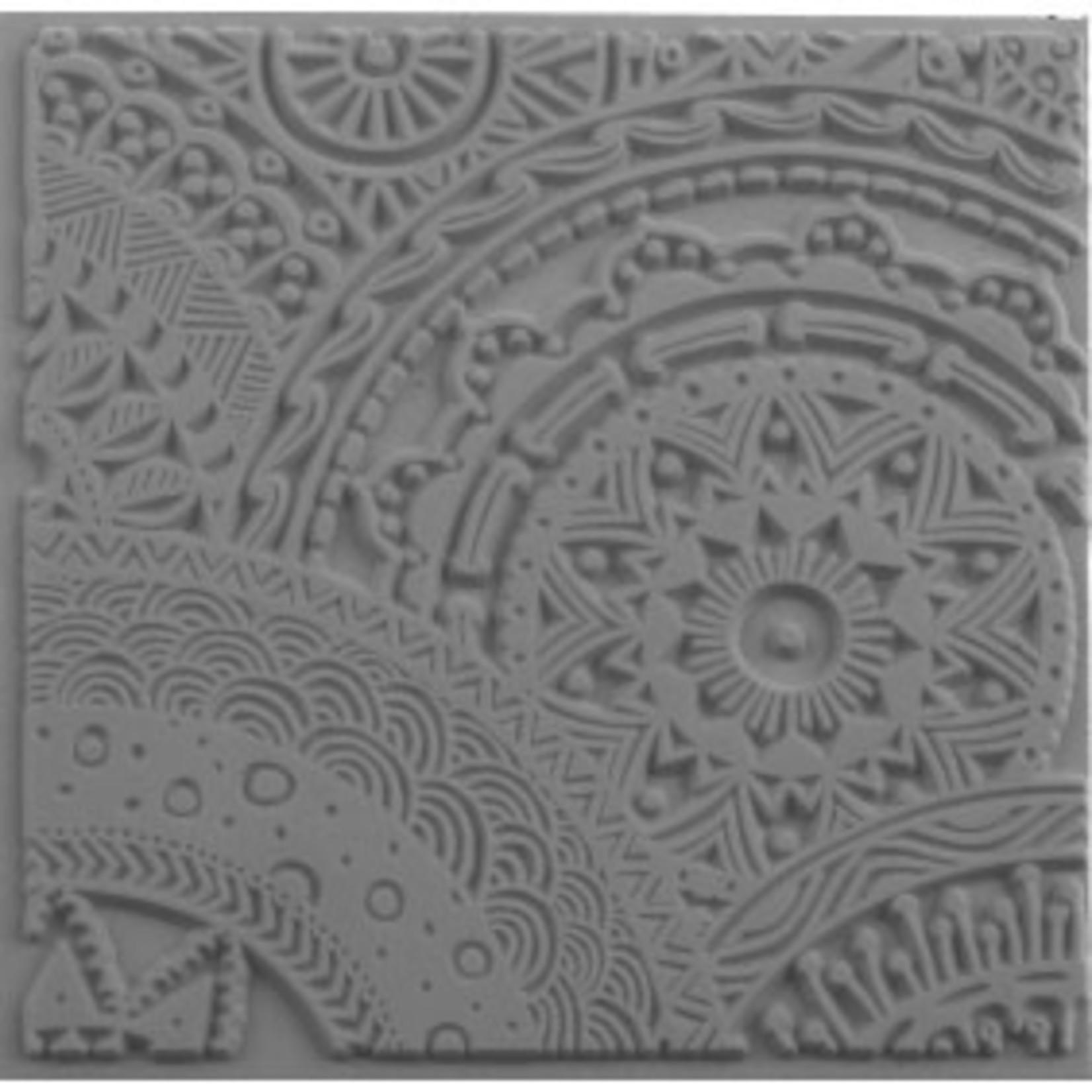 Cernit Cernit Texture Plate 9 X 9 cm - Stars
