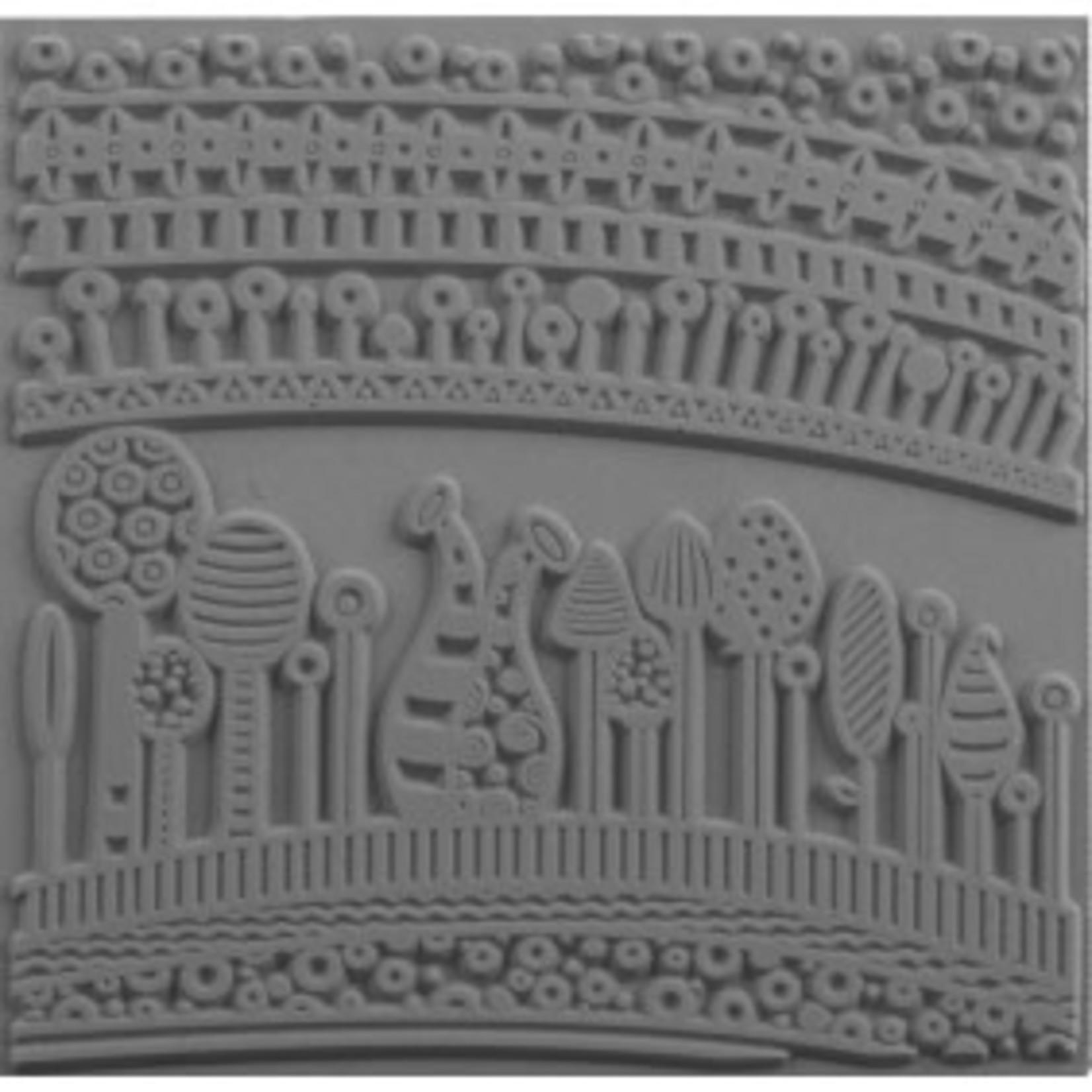 Cernit Cernit Texture Plate 9 X 9 cm - Harmony