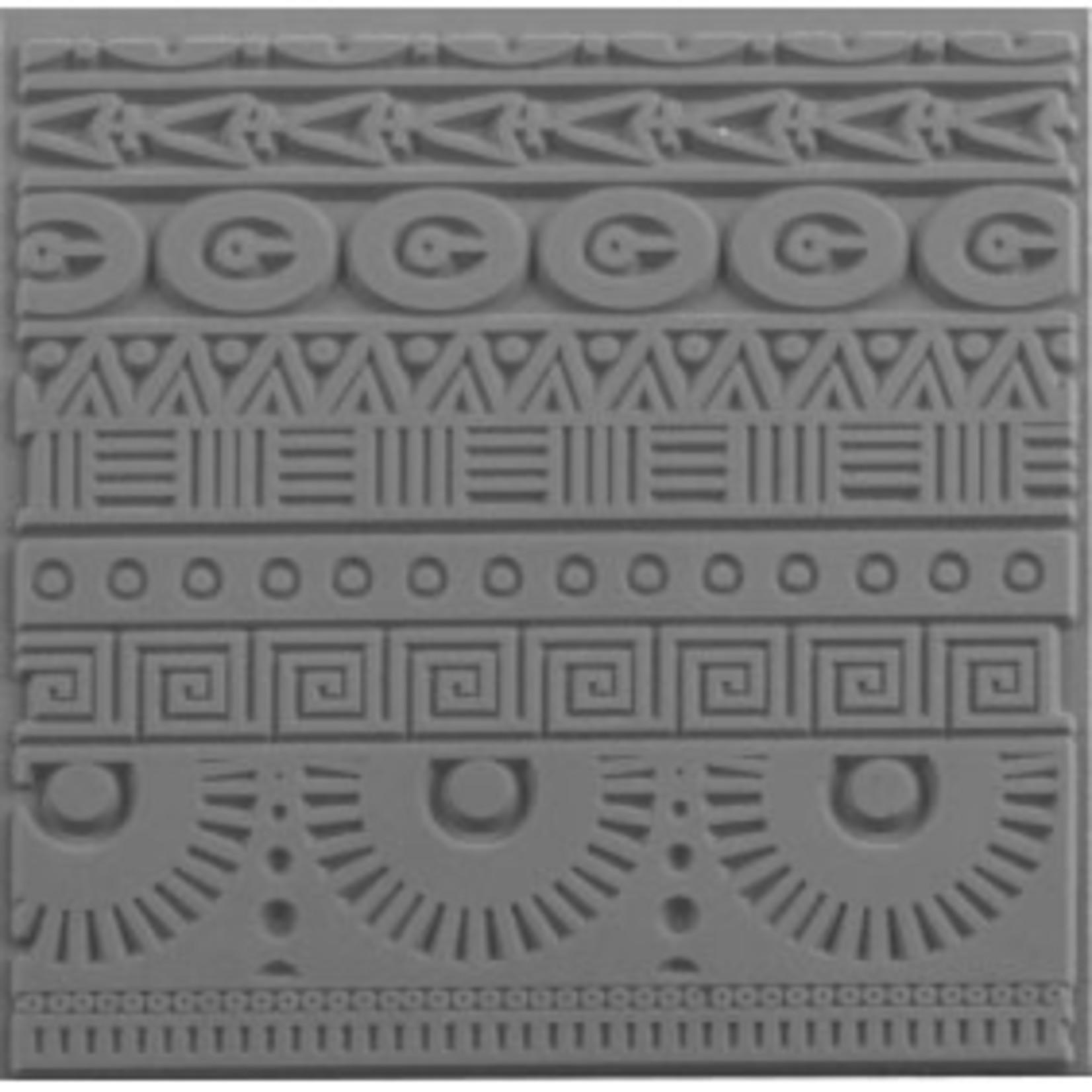 Cernit Cernit Texture Plate 9 X 9 cm - Geometrics