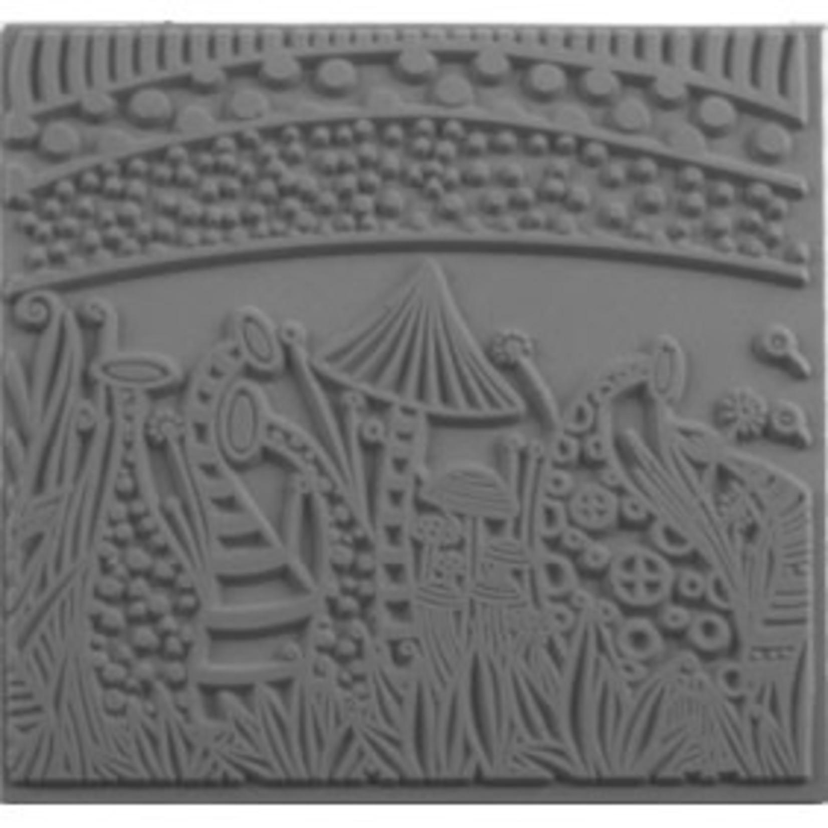 Cernit Cernit Texture Plate 9 X 9 cm - Nature