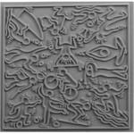 Cernit Cernit Texture Plate 9 X 9 cm - Sports