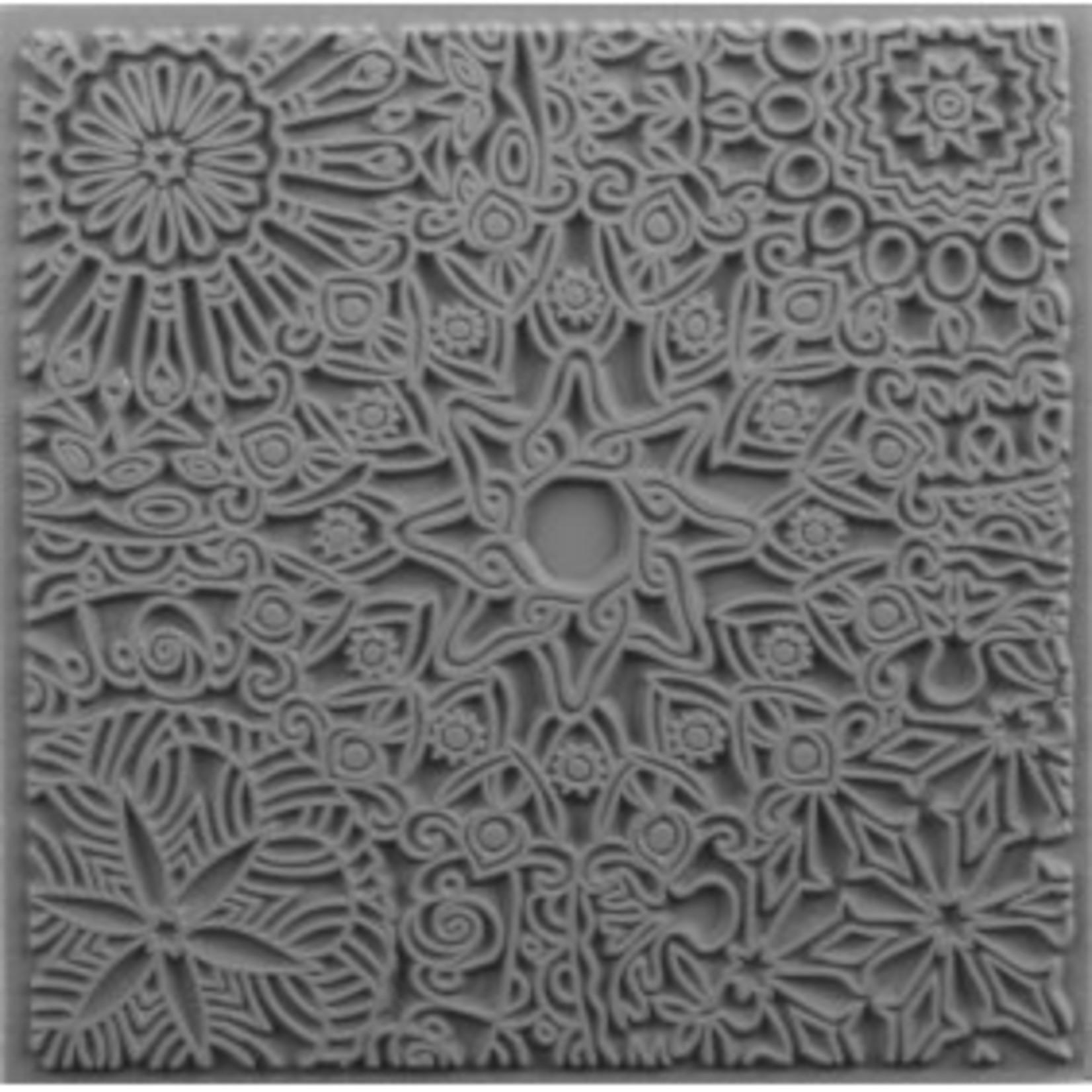 Cernit Cernit Texture Plate 9 X 9 cm - Mandala